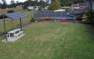Grass Courtyard